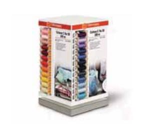 386723 SVK Tower 48/4 Вращающийся стенд для швейных нитей (хлопковая нить 100м) 36,6 x 21,2 x 21,2см