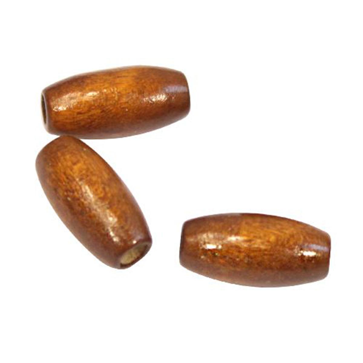 WDB0013 Деревянные бусины, кофейный, 15*7 мм, упак./70 шт., 'Астра'