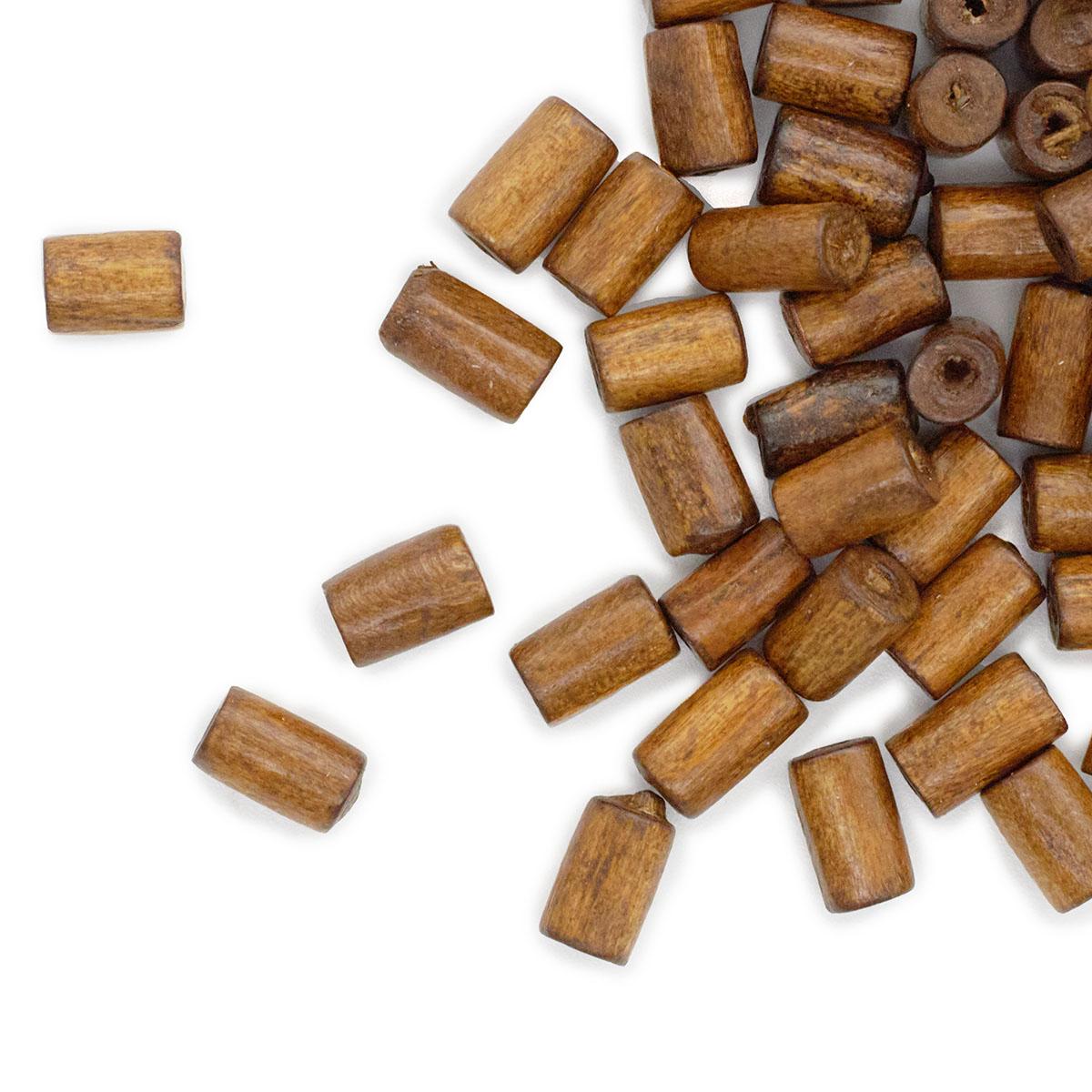 WDB0424 Деревянные бусины, кофейный, 8*4 мм, упак./250 шт./упак., 'Астра'