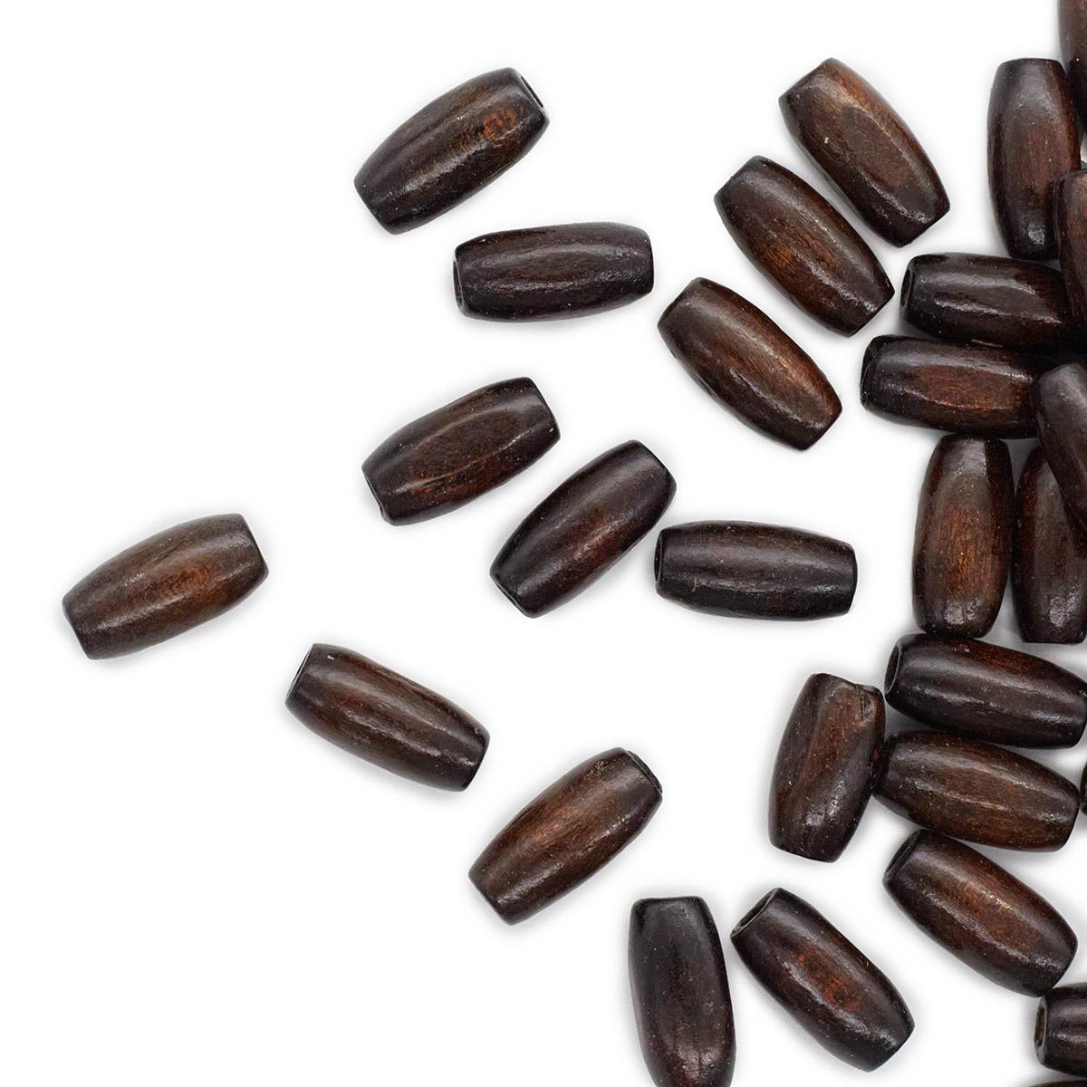 WDB0433 Деревянные бусины, коричневый, 15*7 мм, упак./70 шт., 'Астра'