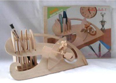 Деревянный пазл 3D, M044-2