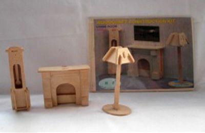 Деревянный пазл 3D, P009-2