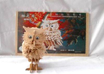 Деревянный пазл 3D, M038-4