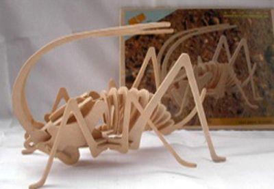 Деревянный пазл 3D, A007-2