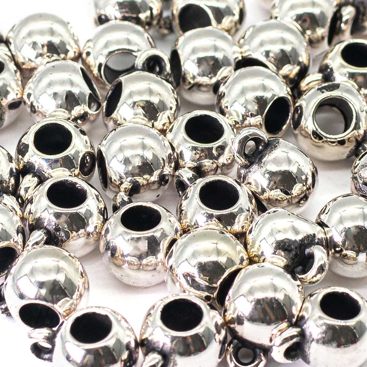 3267 Бусины под металл, 10*5 мм, упак./50 шт., 'Астра'