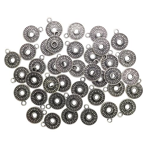 4242 Бусины под металл, 18*4 мм, упак./40 шт., 'Астра'