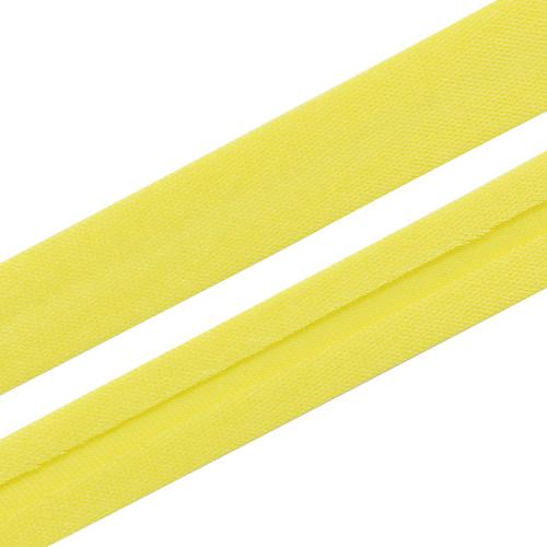 Косая бейка 1,5 см*5м (6035 ярко-лимонный) фото