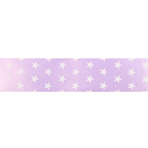 Лента атласная 'Звездочки', 25мм*22,5м