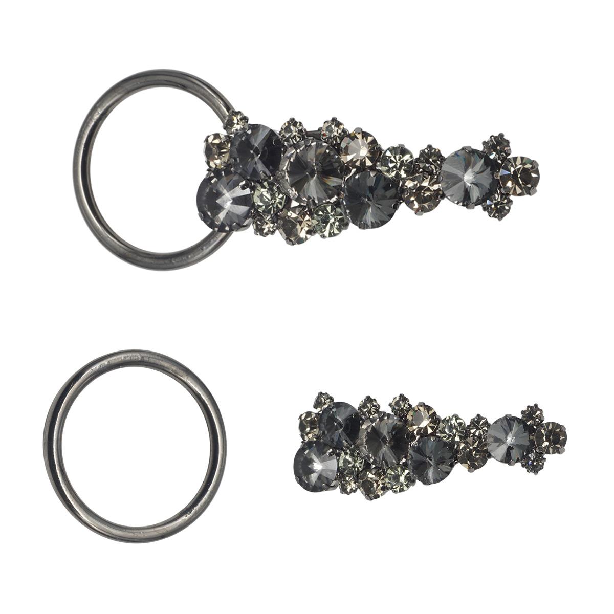 Шубный крючок #3279230 (черный никель)