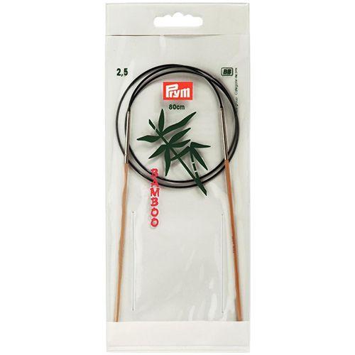 221503 Спицы круговые бамбук Prym 80см х 2,5мм