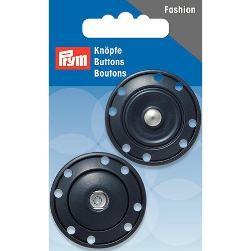 341837 Кнопки пришивные, синий, 35 мм, Prym