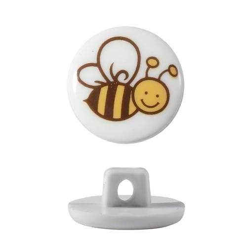 Пуговица, Пчелка (QN053-W1)