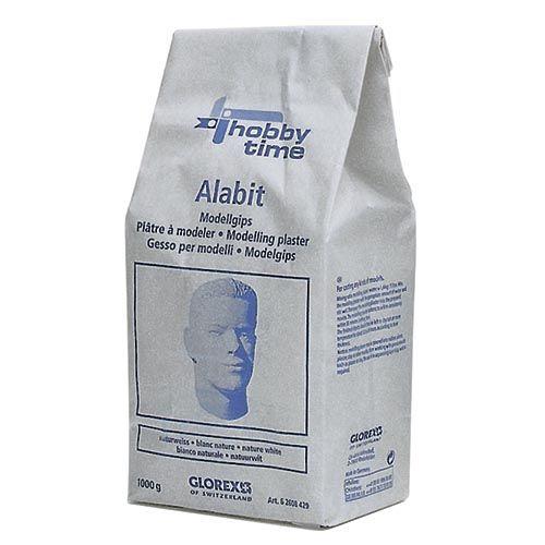 62608429 Смесь для моделирования Alabit, белый цвет, 1000г Glorex