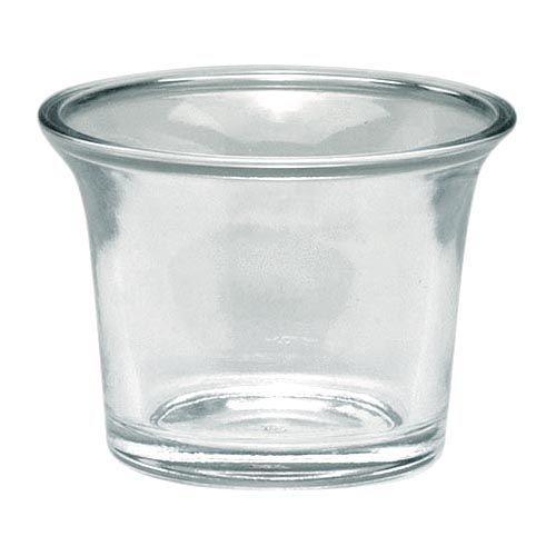 68604601 Подсвечник стеклянный круглый, диам. 6см Glorex