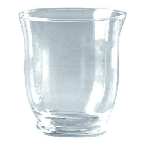 68605071 Подсвечник стеклянный круглый, диам. 7,5см, выс. 9см Glorex