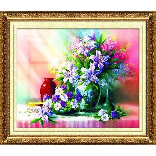 Y6035 Картина со стразами 6D, Cristal, 68x55 см