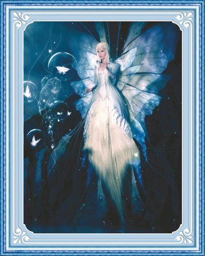 51225 Картина со стразами 5D 'Фея', 55x65см
