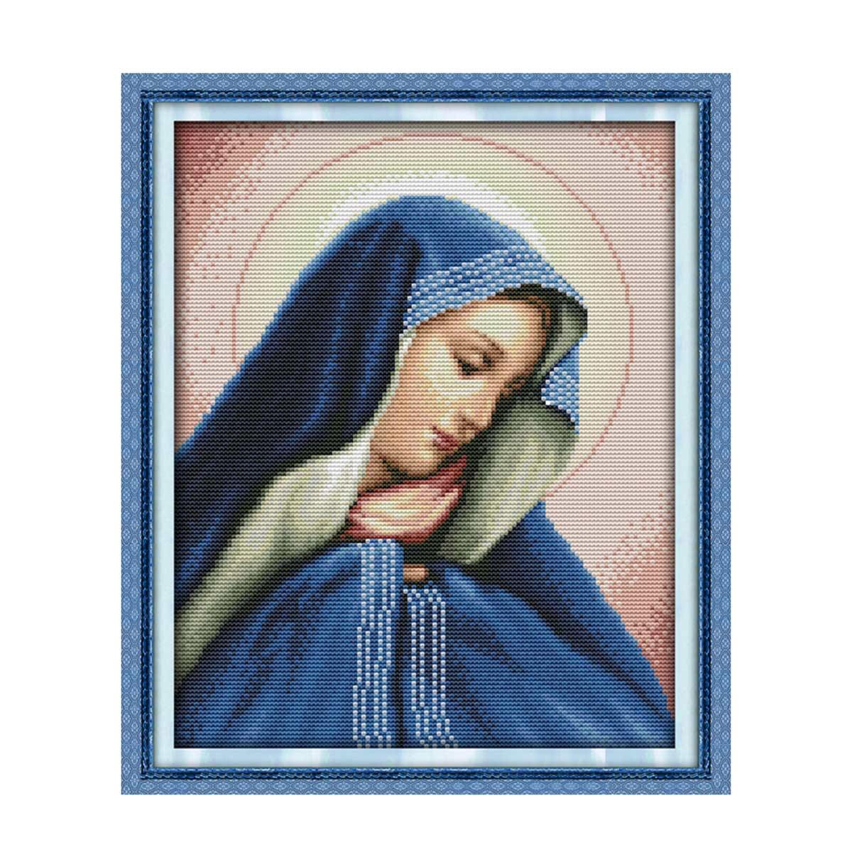 1687 Мозаика Cristal 'Мадонна', 30*38 см