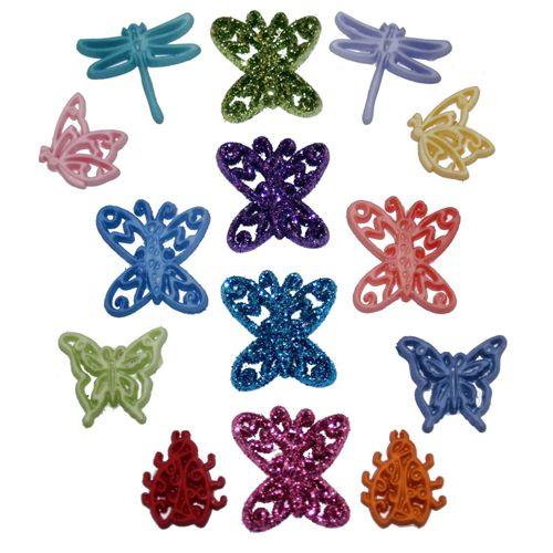 3126, Фигурки. Цветные бабочки Dress It up