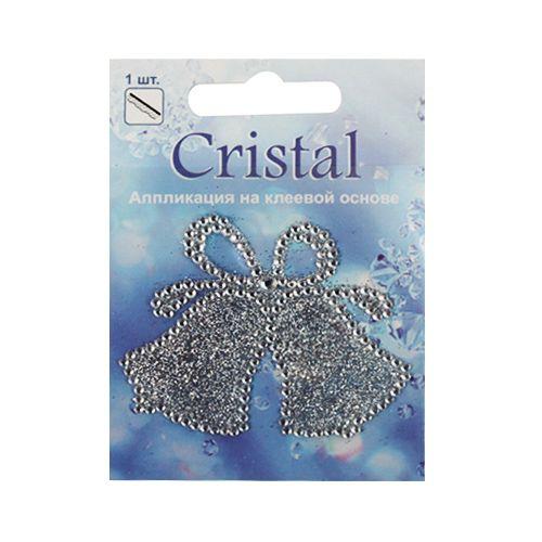 18206 Аппликация на клеевой основе,'Колькольчики ',Cristal
