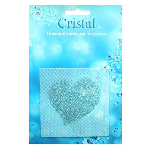18400 Термоаппликация из страз,Cristal