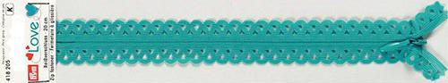 418205 Застежка-молния декоративная Prym Love S11 20cм, бирюзовый цв. 1шт Prym