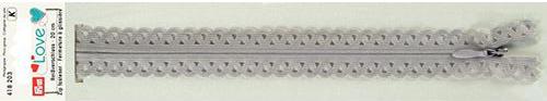 418203 Застежка-молния декоративная Prym Love S11 20cм, серый цв. 1шт Prym