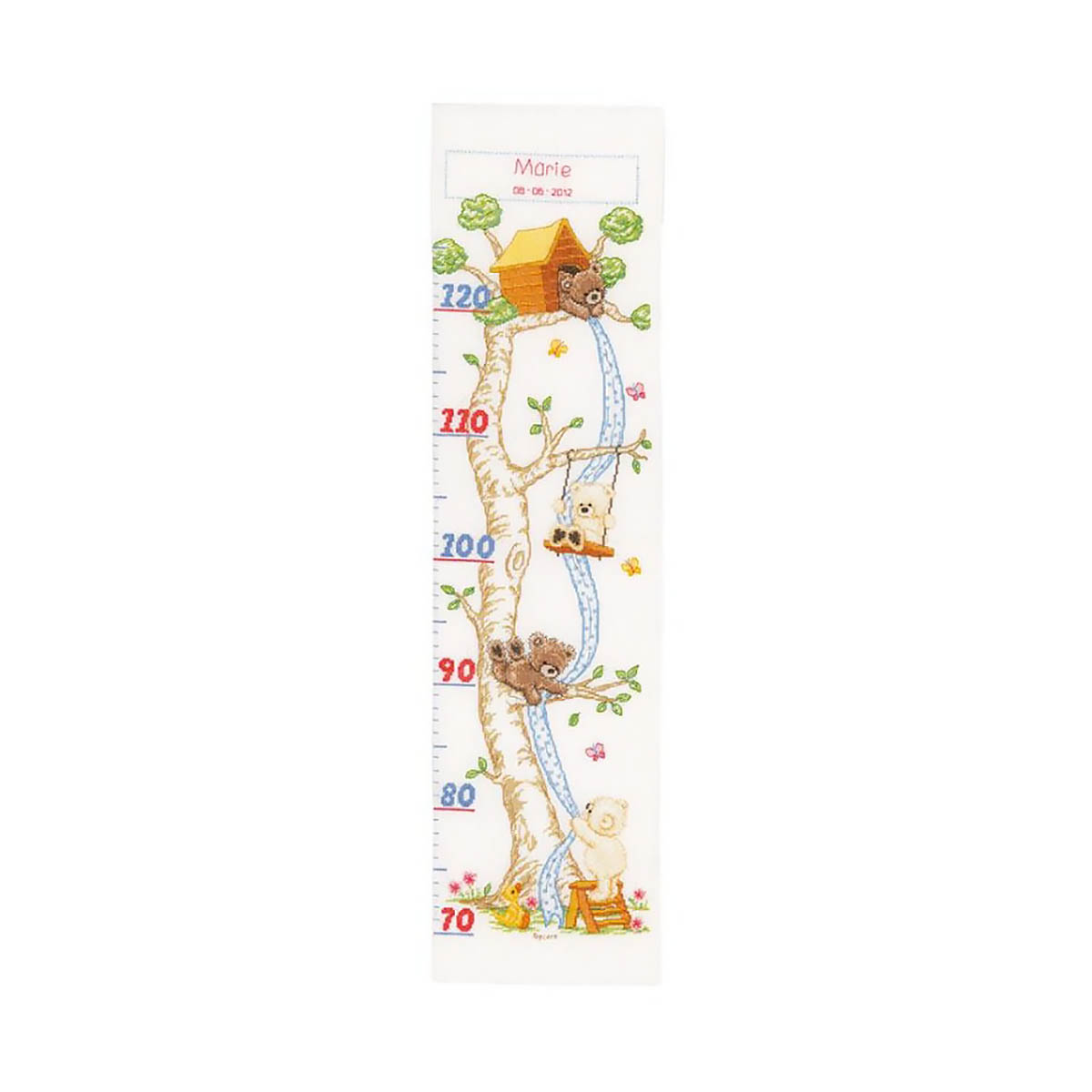 0145778-PN Набор для вышивания Vervaco 'В хижине на дереве' 18x70см