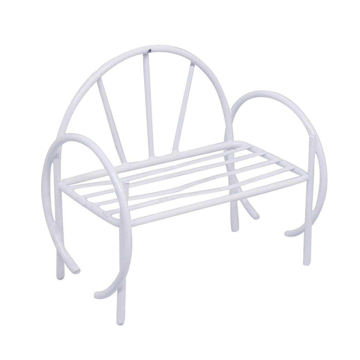 K9018 Металлическая скамейка, 8*8*6 см