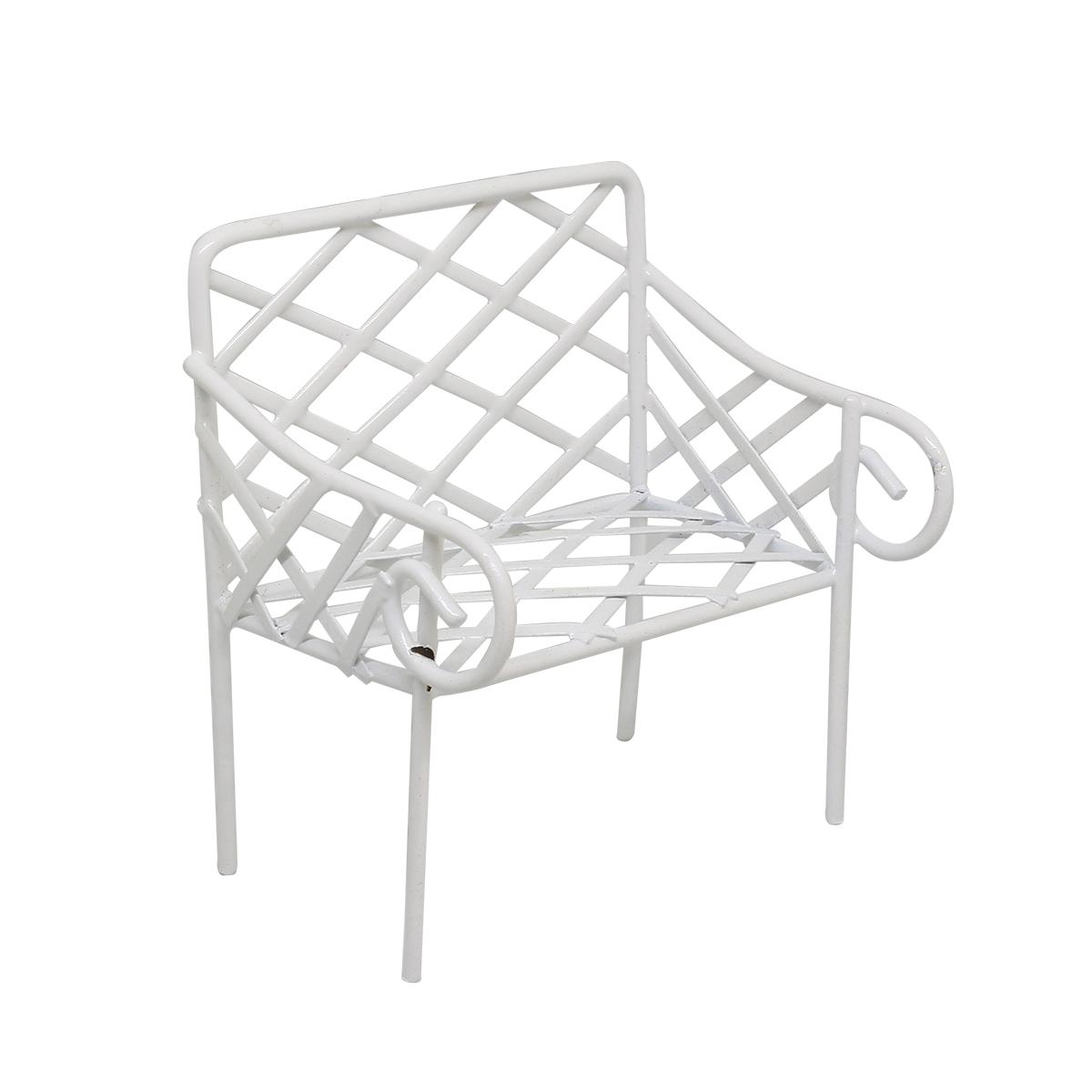 K9008 Металлическая скамейка, 5*8*9 см