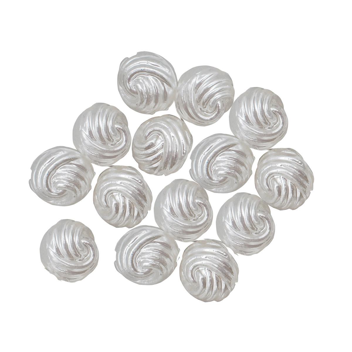 Бусины пластиковые, 4016#, 14 мм, упак./20 шт., 'Астра'