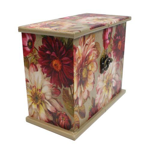 Шкатулка декоративная TL4117 'Яркие цветы', 20*10*16