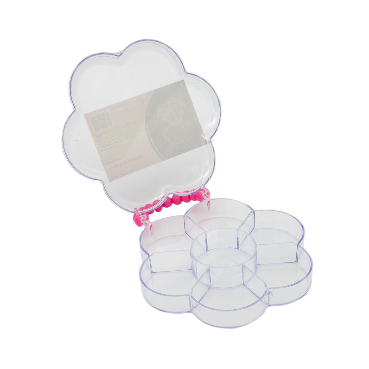 """Контейнер-сумочка """"цветок"""" 930531, 13,6x12,3x2,2 см, Hobby&Pro"""