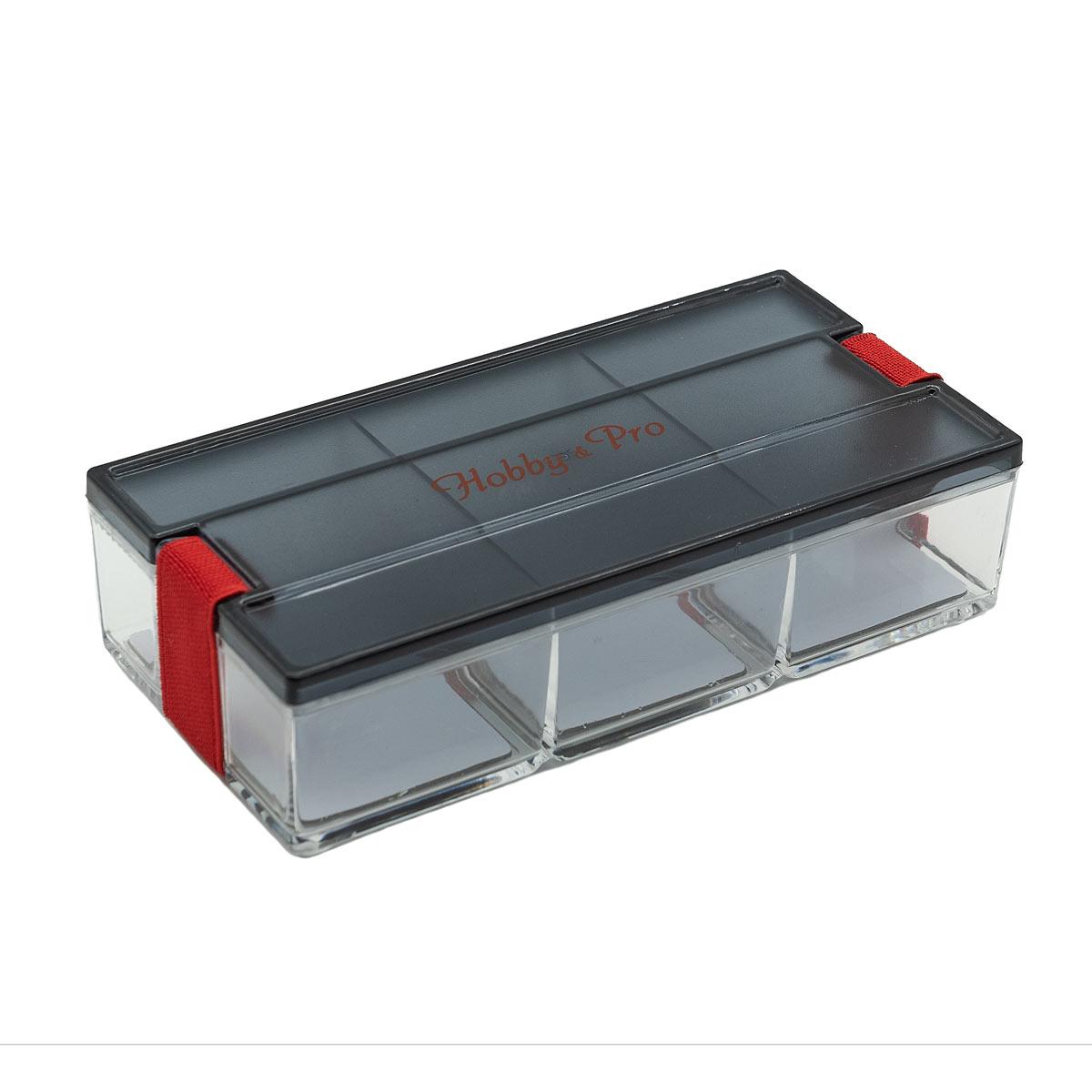 Контейнер для мелочей с фиксирующей резинкой, 930539, Hobby&Pro