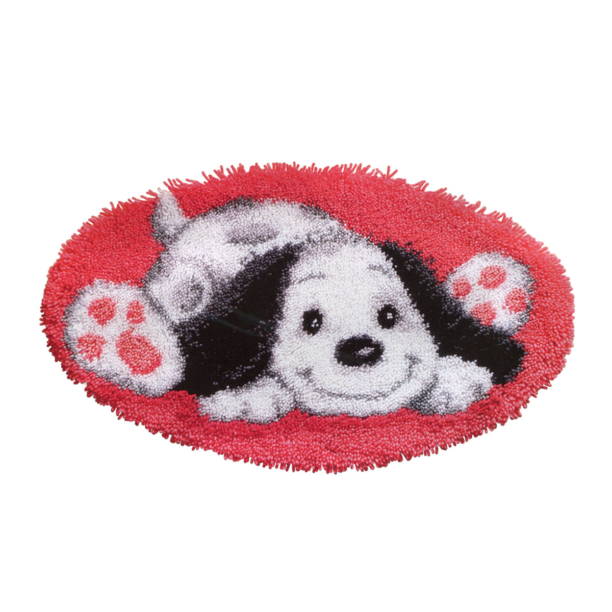 0143941-PN Коврик (ковровая техника) Vervaco 'Игривая собака' 70x40 см