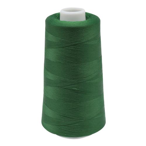 Нить текстурированная некрученая 150D/1, 5000ярд (5186 зеленый) фото