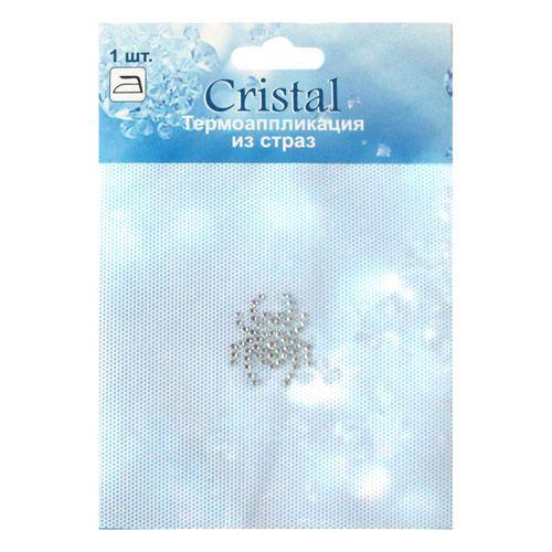 ADS043 Термоаппликация из страз Cristal