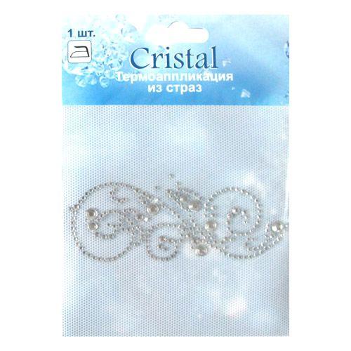 ADS045 Термоаппликация из страз Cristal