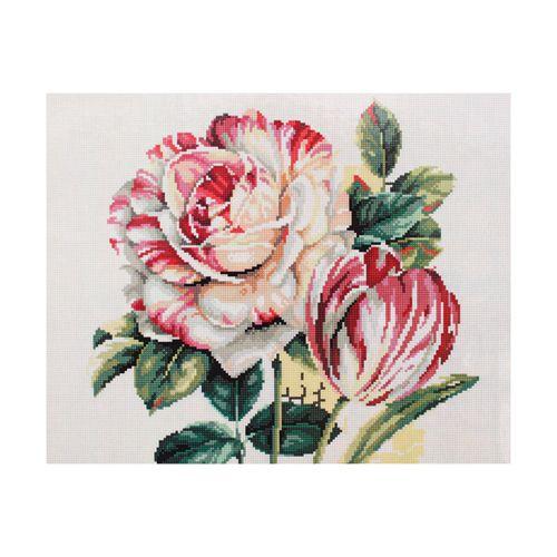GZ003 Мозаика на деревянной основе 'Тюльпаны 2', 40*50см