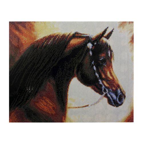 GZ009 Мозаика на деревянной основе 'Конь', 40*50см