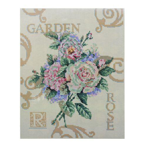 GZ075 Мозаика на деревянной основе 'Розы', 40*50см