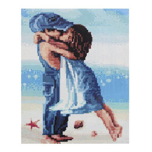 GZ247 Мозаика на деревянной основе 'Чувства', 40*50см