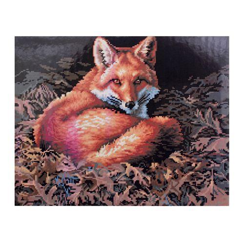 GZ229 Мозаика на деревянной основе 'Лисица', 40*50см фото
