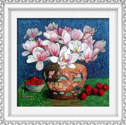1285 Мозаика Cristal 'Магнолии', 50*48 см