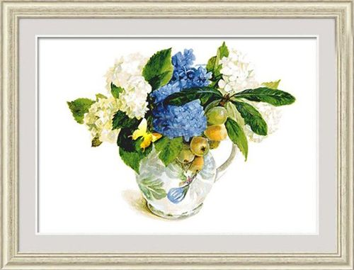 1279 Мозаика Cristal 'Гортензия', 63*50 см