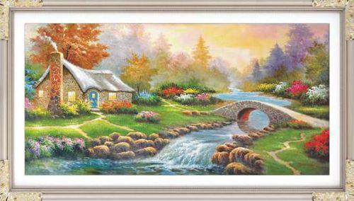 1100 Мозаика Cristal 'Осенний день', 88*44 см
