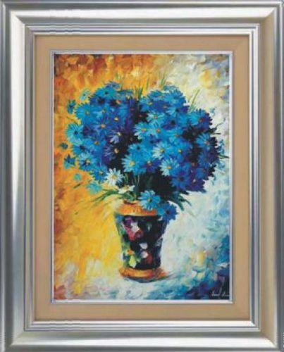 1020 Мозаика Cristal 'Синий букет', 50*70 см