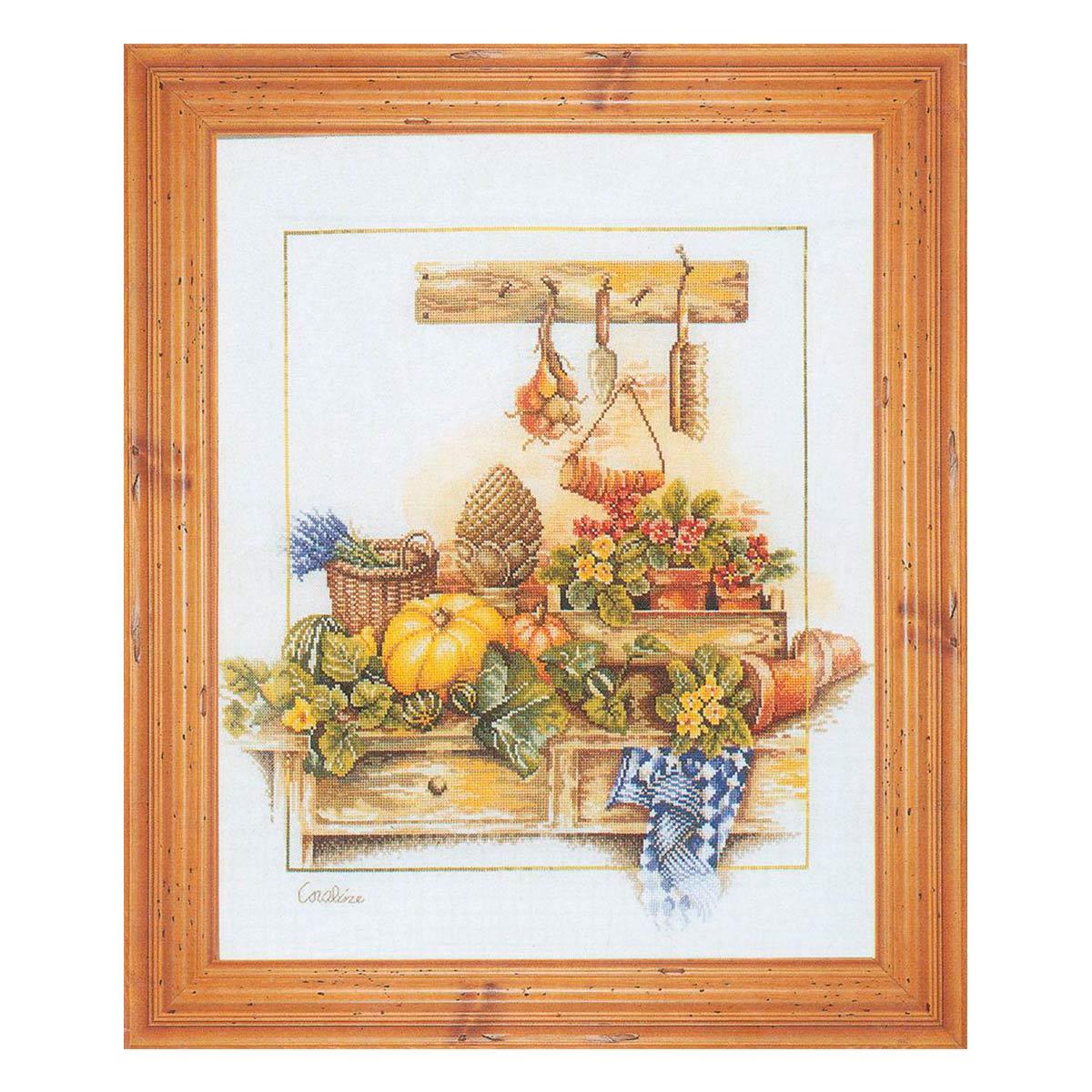 0007971-PN Набор для вышивания LanArte 'Композиция на кухне' 48x56 см