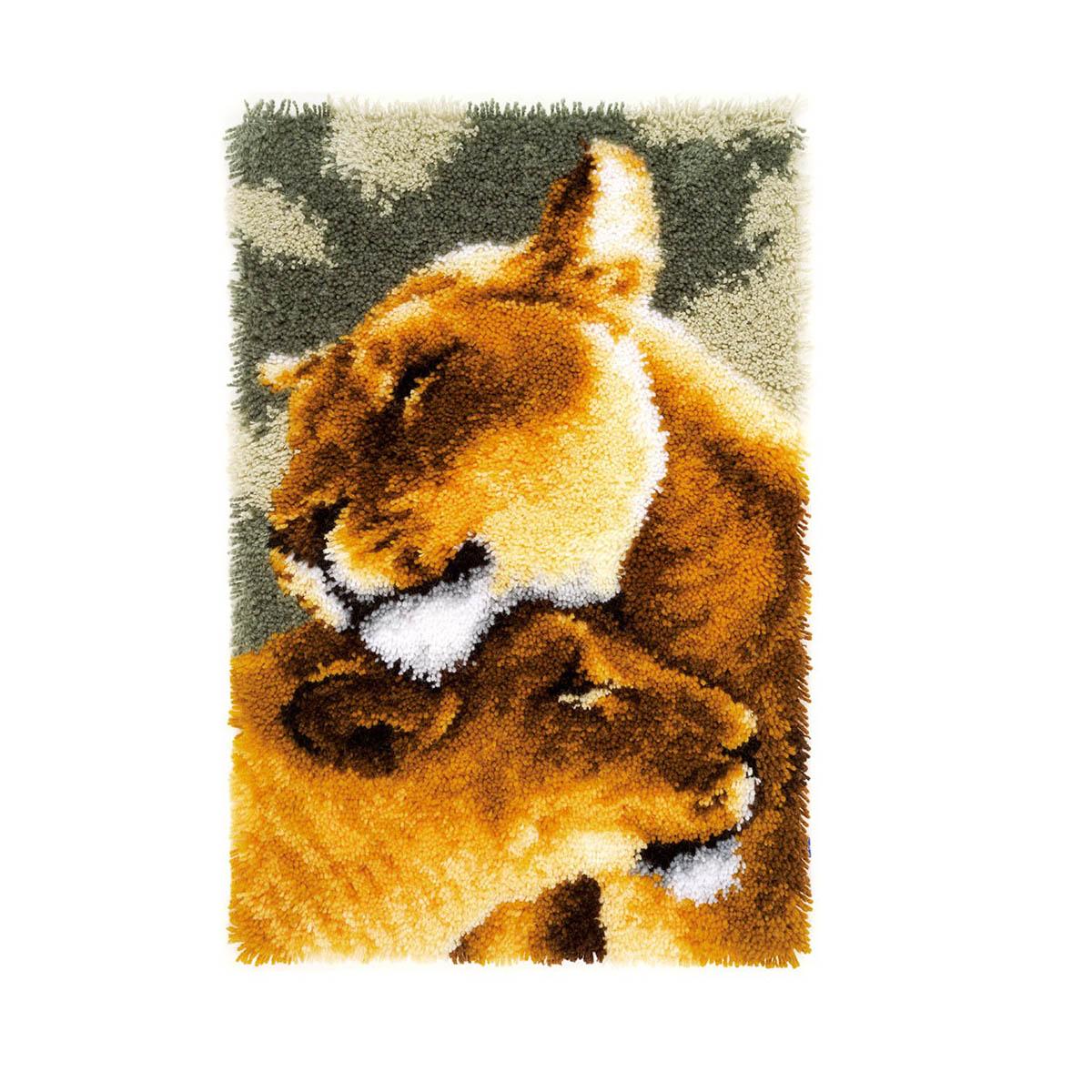 0150913-PN Коврик фигурный 44х68 см (ковровая техника) - комплект для вышивания Vervaco
