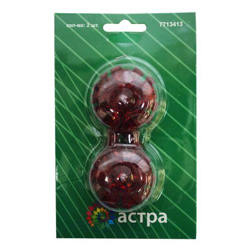0368-0192 Клипса-магнит для штор, упак./2 шт., 'Астра'